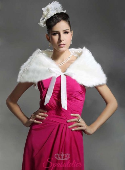 Stola pelliccia sposa vendita online economico