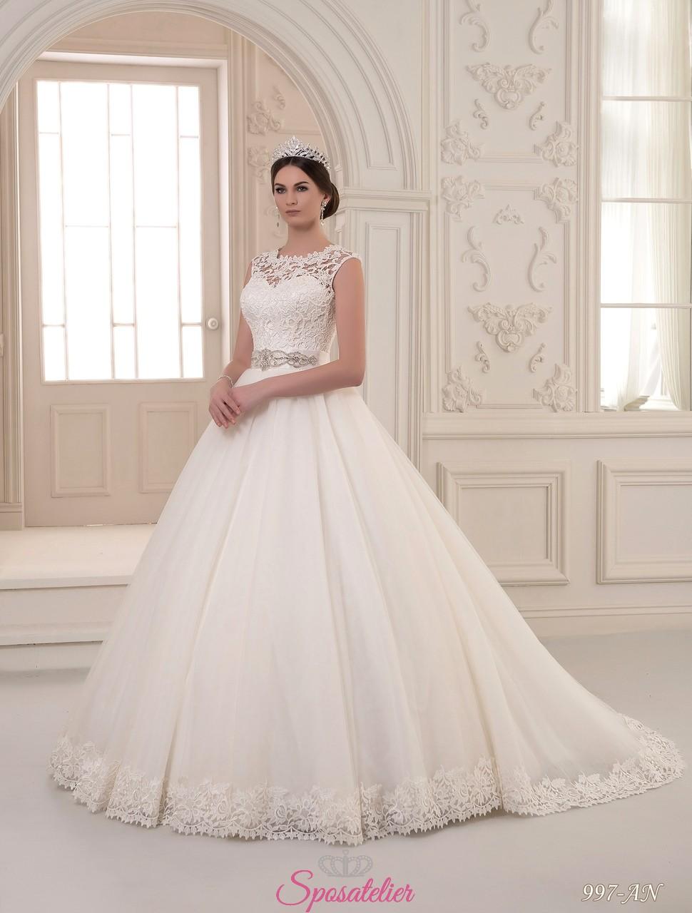 50602a7d48d5 Felicia- vendita abiti da sposa economici online ItaliaSposatelier