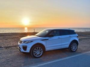 range rover evoque sfondo mare
