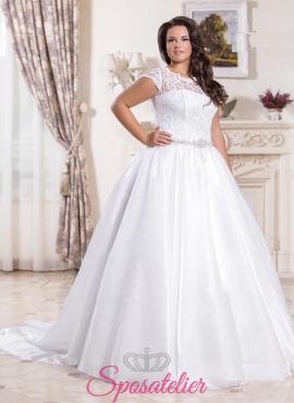 Mirtiana-vendita abiti da sposa taglie comode online