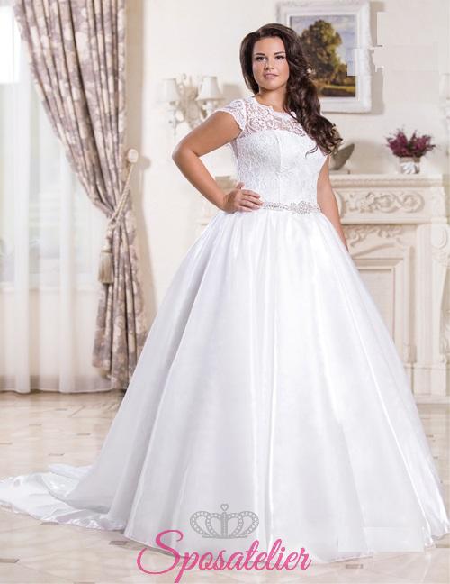 242850f9580b Mirtiana-vendita abiti da sposa taglie comode onlineSposatelier