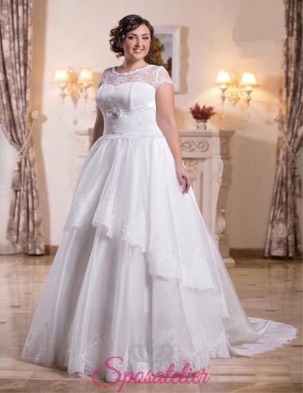 Giorgetta-vendita abiti da sposa taglie comode online