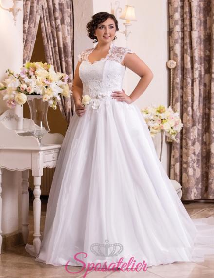 Sophie-vendita abiti da sposa curvy online economici