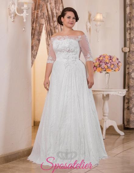 Solange- vendita abiti da sposa taglie forti online economici