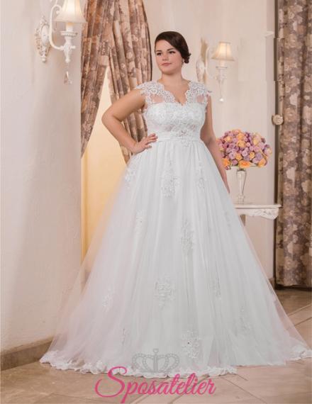 Mirabell- vendita abiti da sposa taglie forti online economici