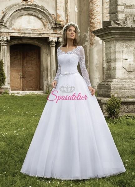 Napoli-abito da sposa economico online Italia vendita