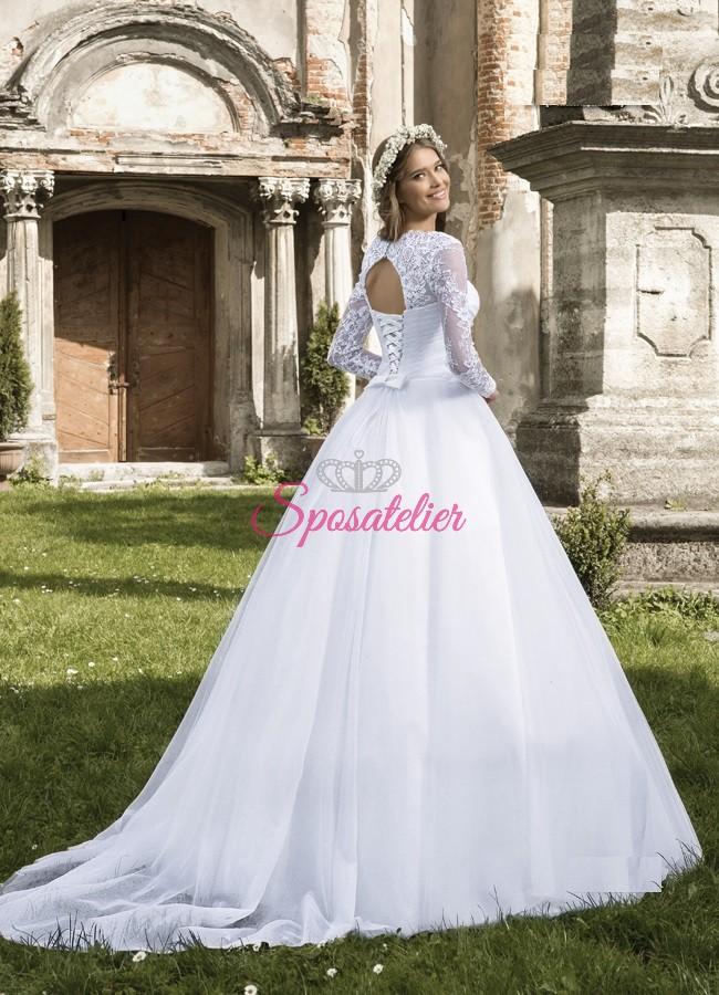 8630b815358a Napoli-abito da sposa economico online Italia venditaSposatelier