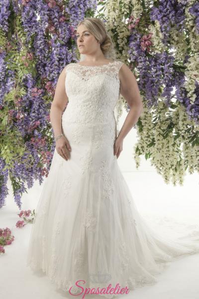 moernita- abiti da sposa taglie forti online Italia vendita
