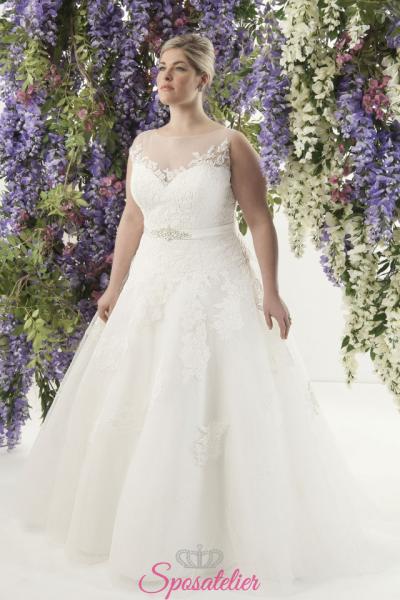 Phobee- abiti da sposa taglie forti online Italia vendita