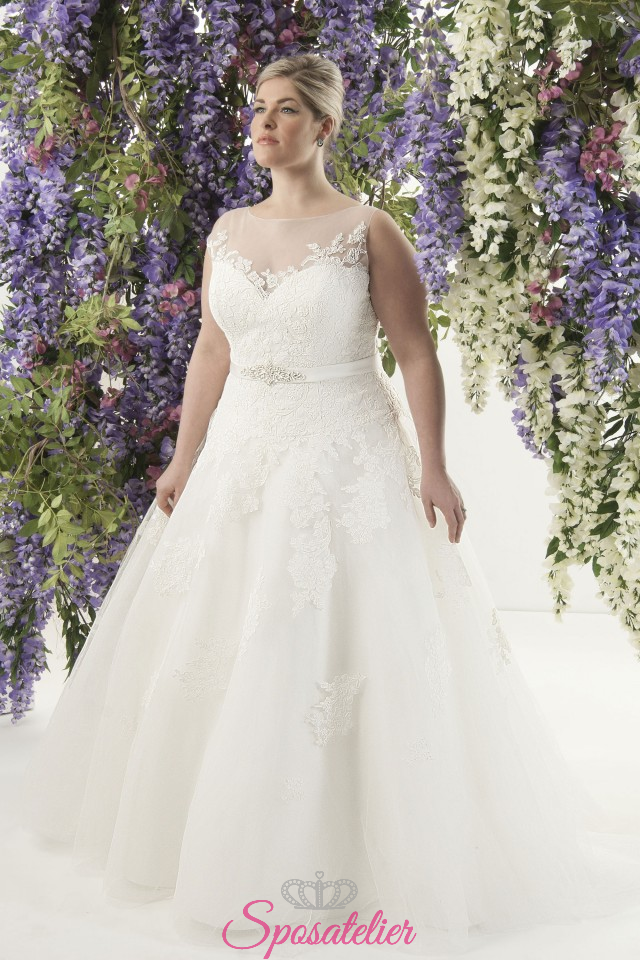 Eccezionale Phobee- abiti da sposa taglie forti online Italia venditaSposatelier UD48