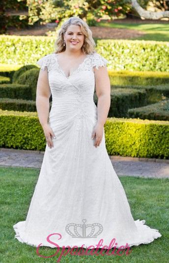 Elenoire- abiti da sposa taglie forti online Italia vendita