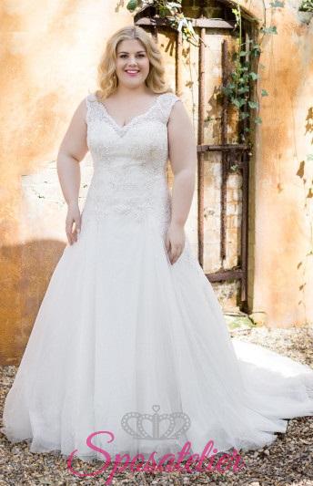 Giulienn- abiti da sposa taglie forti online Italia vendita