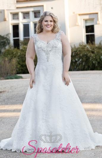 Pannina- abiti da sposa taglie forti online Italia vendita
