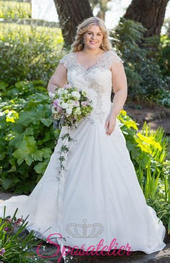 monique- abiti da sposa taglie forti online Italia vendita