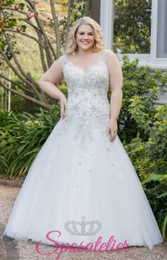 Matylde- abiti da sposa taglie forti online Italia vendita