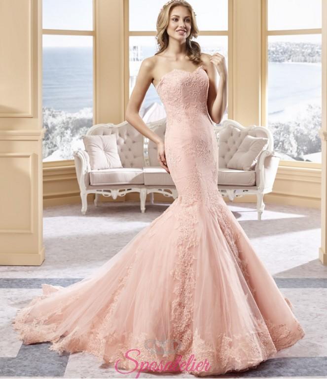 fd040e65e754 Taranto- vendita abiti da sposa online colorati economici Italia