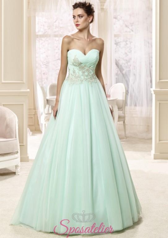 Abiti da sposa colorati vendita online