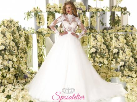 ATALANTA-vendita abiti da sposa online Italia economici