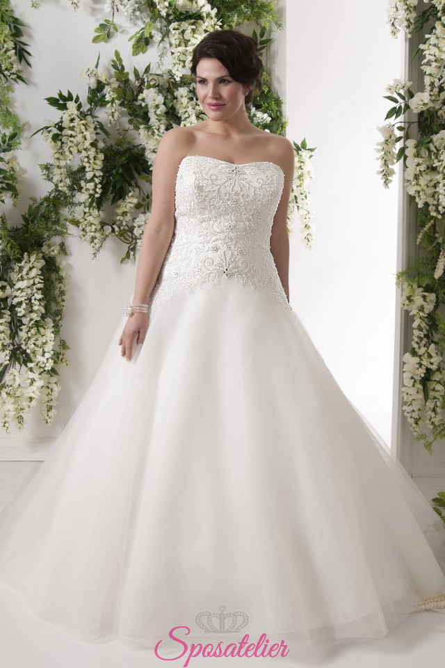 Salerno – abiti da sposa taglie forti online economici Italia vendita 5389842ad40