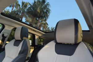 tetto panoramico range rover evoque