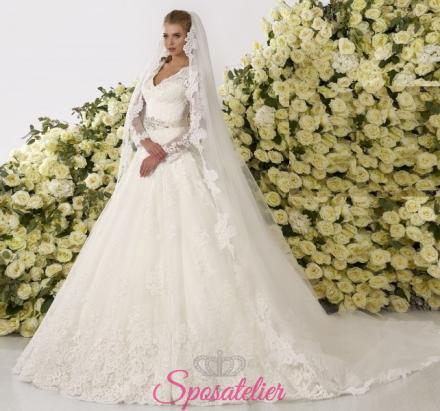 Aurosa- abiti da sposa online economici Italiani vendita