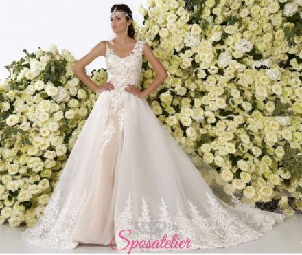 flora- abiti da sposa online economici Italiani vendita
