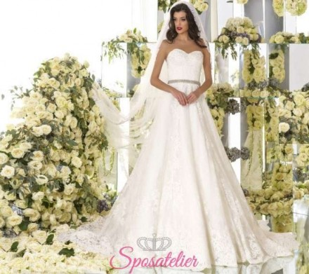 Manola- abiti da sposa online economici Italiani vendita