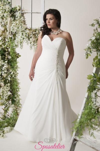 teramo- abiti da sposa taglie forti economici su misura vendita online