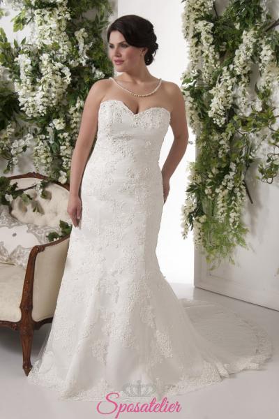 bolzano- abiti da sposa taglie forti economici su misura vendita online