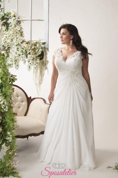 rodi- abiti da sposa taglie forti online economici Italia vendita