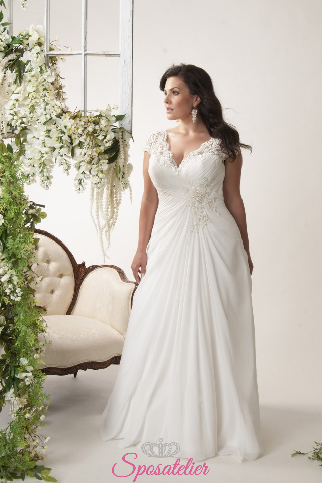 b07b10f5d5f3 rodi- abiti da sposa taglie forti online economici Italia vendita