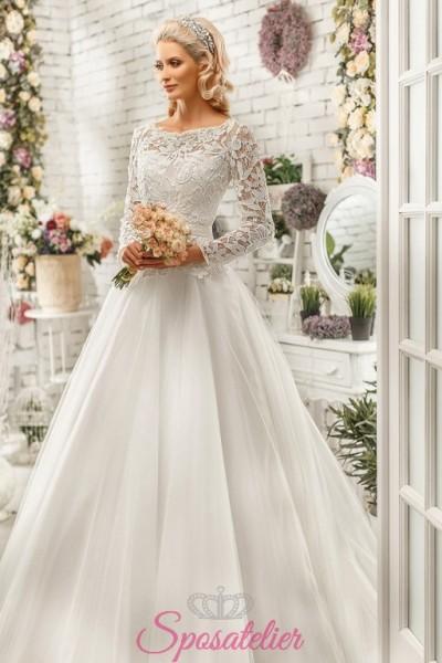 cerignola-vendita online Abiti da Sposa economici su misura