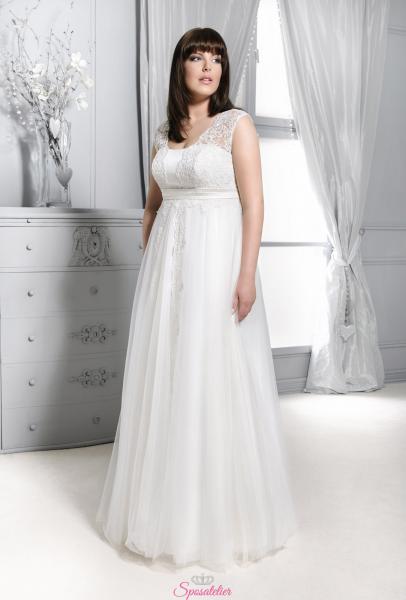 Pisa- abiti da sposa taglie forti online economici Italia vendita