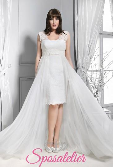 Pesaro- abiti da sposa taglie forti online economici Italia vendita