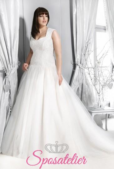 Siena- abiti da sposa taglie forti online economici Italia vendita