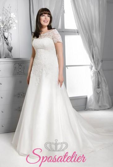 treviso-Abiti da sposa taglie forti economici su misura vendita online