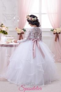 Abiti Prima Comunione online economici realizzati su misura vestiti cerimonia bambine damigelle (13)