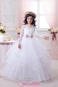 Abiti Prima Comunione online economici realizzati su misura vestiti cerimonia bambine damigelle (6)