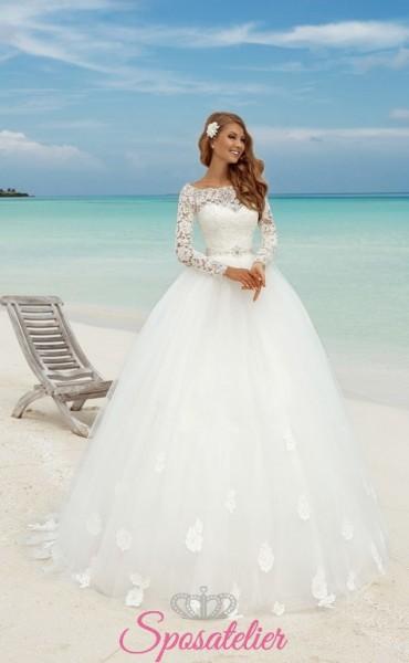 palmi-vendita online Abiti da Sposa economici