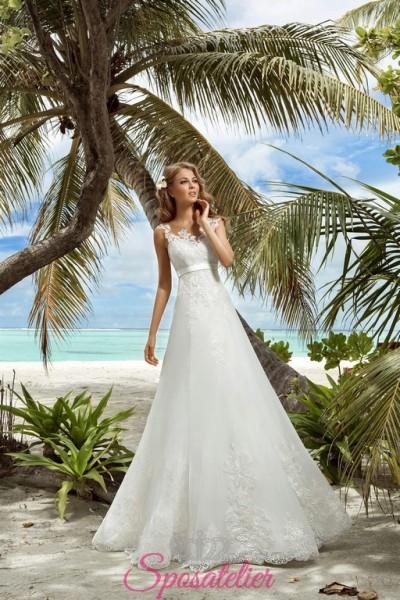 vernazza-vendita online Abiti da Sposa economici