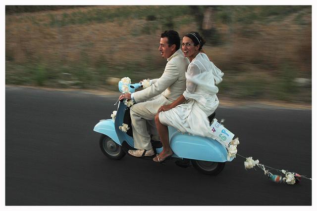 Matrimonio In Vespa : Matrimonio vintage abito da sposa sposateliersposatelier