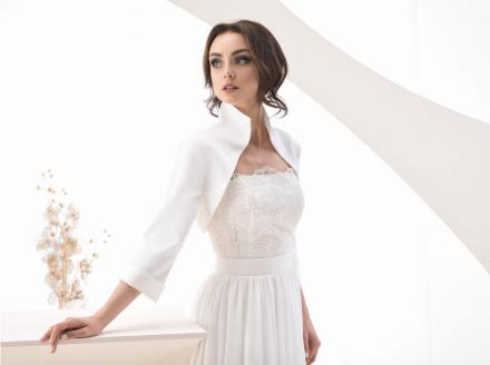 coprispalle abito da sposa nuova collezione