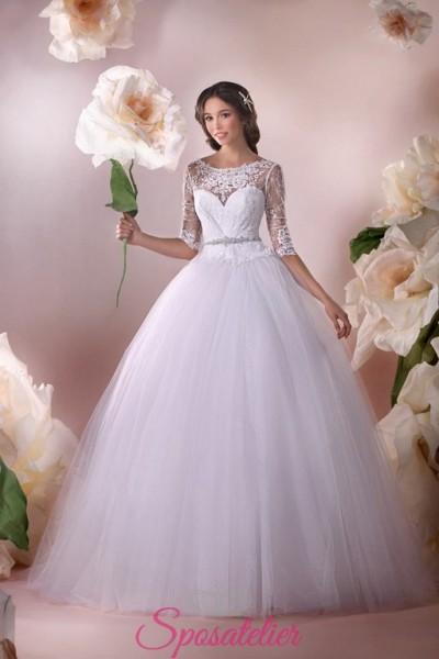 eliizza- vendita online Abiti da Sposa economici principeschi