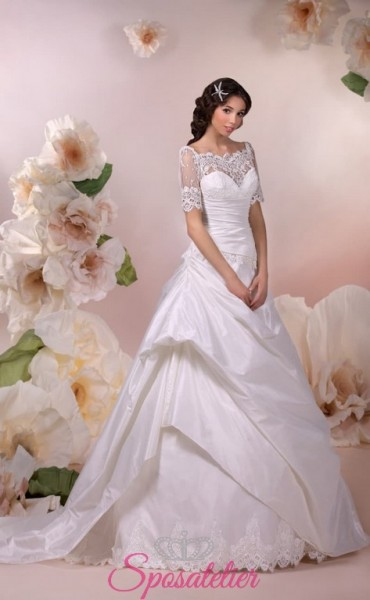 alaleasa- vendita online Abiti da Sposa economici principeschi