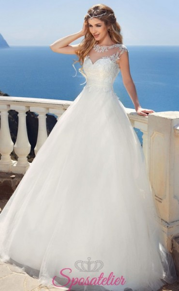 dorabelal- vendita online Abiti da Sposa economici principessa