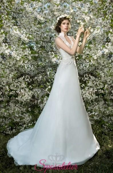 briela- vendita online Abiti da Sposa economici contrassegno ampio