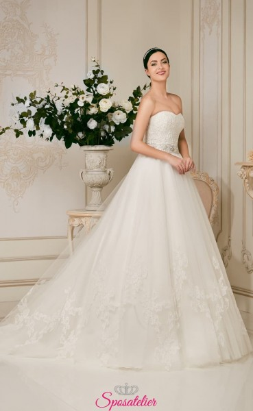 calcutta- vendita online Abiti da Sposa economici contrassegno sconti