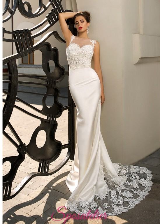 bfdc73a7331a ninah- abito da sposa sirena con schiena scoperta ricamato online sexy