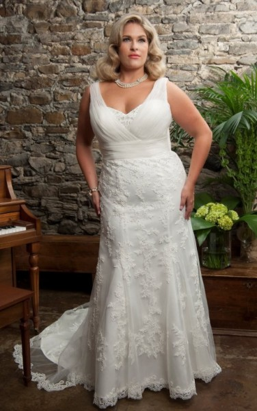 ADINE-abiti da sposa 2016 taglie comode su misura