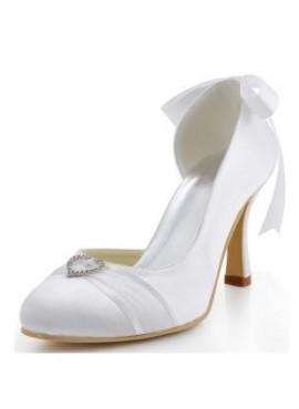 Scarpe da sposa online Italia economiche tacco comodo decolletè